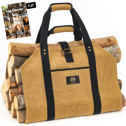 Firewood Carrier Bag Best Sellers for fireplace